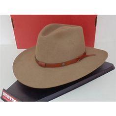 Stetson Cowboy Hat 4X Beaver Fur Felt Bark Catera SF04401232-CTRA--R c7bdd3054ad4