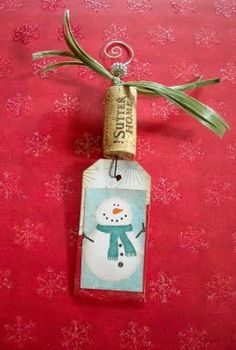 Easy and whimsical gift tags-Fun!