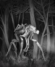 Monster Concept Art, Monster Art, Creature Concept Art, Creature Design, Fantasy Creatures, Mythical Creatures, Character Art, Character Design, Fantasy Demon