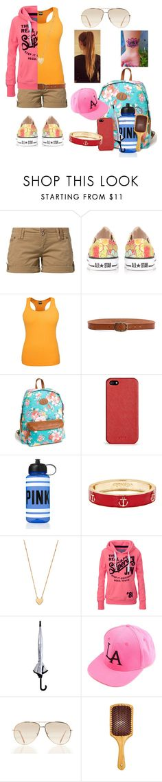 """""""Camp!"""" by elise-22 ❤ liked on Polyvore featuring Fresh Made, Converse, Linea Pelle, Steve Madden, DKNY, Victoria's Secret PINK, Jennifer Zeuner, Superdry, Oasis and Charlotte Russe"""