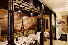 Paris in a Cup Tea Salon in Orange, CA... I want to go here very much :)