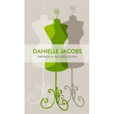 Green Dress Form Alteration and Fashion Design Business Cards http://www.zazzle.com/dress_form_alteration_fashion_design_card_green_business_card-240620272338708277?rf=238835258815790439&tc=GBCSewing1Pin