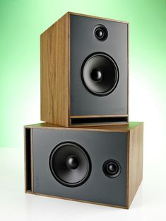 Don't judge these speakers by their cabinets, because they're fantastic