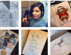 """Check out new work on my @Behance portfolio: """"My Sketchbook"""" http://on.be.net/1Hu78qj"""