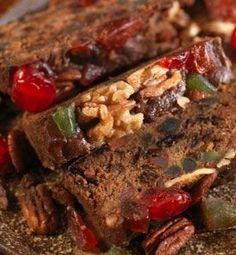 The Recipe of the Week for October 19, 2012 talks about our recipe for Old-Fashioned Brandied Fruitcake.