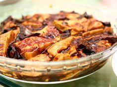 Marinated and Baked Tofu