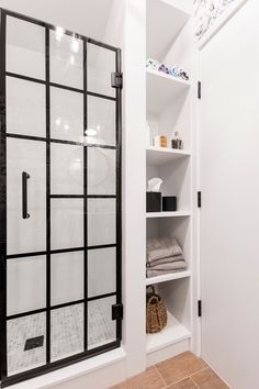 Find a shower door to suit every bathing enclosure and décor. From door styles to finishes — we've put together a guide to help you select a shower door for your next bathroom reno. Next Bathroom, Bathroom Renos, Bathroom Renovations, Bathrooms, Shower Pan, Rain Shower, Shower Fittings, Swinging Doors, Glass Shower Doors