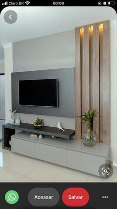 Modern Tv Unit Designs, Living Room Tv Unit Designs, Tv Wall Unit Designs, Simple Tv Unit Design, Tv Unit Interior Design, Tv Unit Furniture Design, Modern Tv Room, Modern Living, Minimalist Living