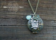 Essential oil Diffuser  necklace from sacred arrow