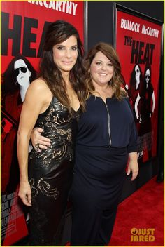 Sandra Bullock & Melissa McCarthy