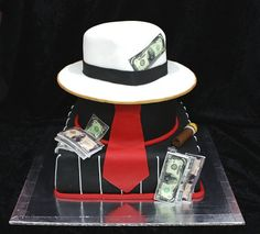 gangster cake by The House of Cakes Dubai, via Flickr