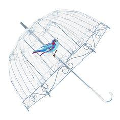 Bird Transparent Umbrella