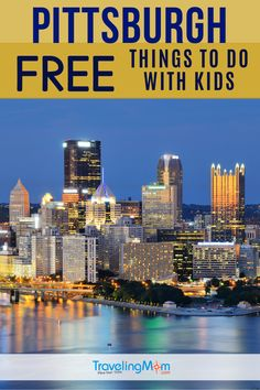 Pittsburgh is a great city with lots for families to explore! Find out what's free to do with kids for a truly budget vacation. Travel With Kids, Travel Usa, Family Travel, Mexico Vacation, Vacation Trips, Vacation Ideas, Us National Parks, Romantic Vacations, Free Things To Do