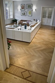 Parquet spina francese rovere