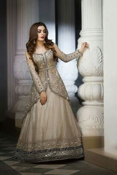 Price of this dress robes pakistanaises, moda indiana, indian attire, indian wear, Indian Gowns Dresses, Pakistani Wedding Dresses, Pakistani Dress Design, Indian Wedding Outfits, Indian Outfits, Pakistani Lehenga, Indian Attire, Indian Wear, Prom Dresses