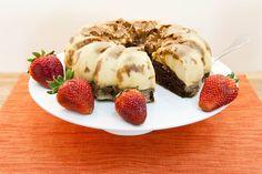 Chocoflan: a layer of caramel, flan and chocolate cake. So good!
