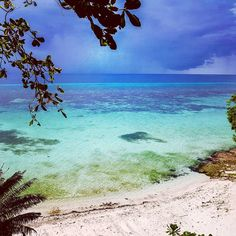 Amazing colors of beach and storm coming to anda coast Bohol Philippines, Beautiful Islands, Coast, Colors, Amazing, Beach, Places, The Beach, Colour