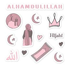 Hijabi Stickers
