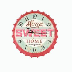 Sweet Home, Clock, Watch, House Beautiful, Clocks, The Hours