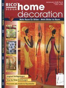 Home-Decoration-PARAVENTS-Nr-19-Acrylfarbe-Keilrahmen