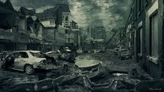 """""""Destroyed City"""" by (Nacho3) 