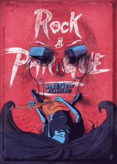 Poster Rock to the park 2015