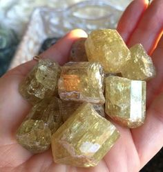 Yellow Apatite is a stone I covet, and once you get yours, I'm sure you will see why. It makes things happen. No really, it does. It's one of the most powerful stones of the Golden Ray, the Solar Plexus center of your power and manifestation energy. There's a lot of unnatural material on the