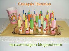 LAPICERO MÁGICO: ANIMACIÓN A LA LECTURA: Canapés literarios (Inferencias)