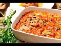 Lasaña de nopal. Sabrosa y nutritiva lasaña @vegetariana, hecha con nopal en vez de pasta. Ideal para el @lunes sin carne.