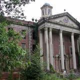 The abandoned Jones  Building , built in 1928-1929, was named after Superintendent Dr. Lodrick M. Jones. It was permanently closed in 1979.    HGTV FrontDoor