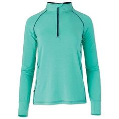 EQology 1/4 Zip Long Sleeve Top by SmartPak