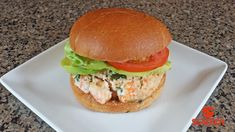 Langostino Lobster Burger With Chipotle Mayo Recipe