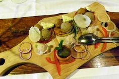"""Eine köstliche Zusammenstellung  Das ist ein """"Vorspeisenteller"""" im Restaurant Amon  #Slowenien #Kulinarik #Restaurant #Spezialitäten"""