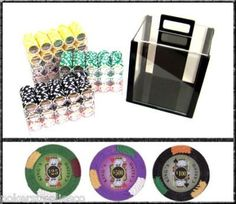 1000 King's Casino Acrylic Poker Chip Set. 14 Gram Heavy Weighted Poker Chips. by Heavy Weight. $99.99. This is our 14 Gram Heavy Weighted poker chip Set with King's Casino design. This items ships in a 1000 ct acrylic case. This poker chip is perfect gift for anyone that is relatively new to the game of poker! This set consists of ultra heavy casino graded poker chips. #money #poker