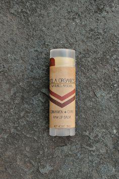 cinnamon + chai | raw lip balm