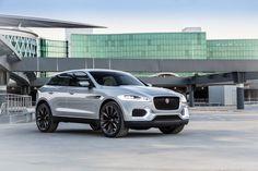 Zo ziet de Jaguar C-X17 er in het zilvergrijs uit
