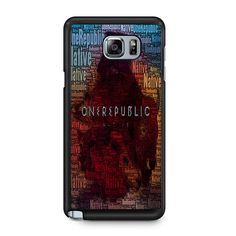Onerepublic Native Collage For Samsung Galaxy Note 5