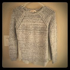 Sweater Very soft light blue gray color Ann Taylor Sweaters