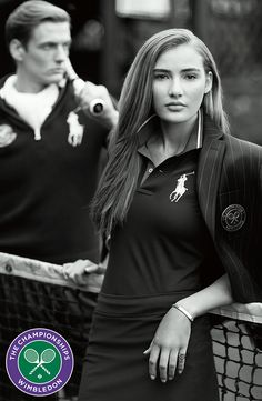Part of our collection celebrating Wimbledon 2016, this ball girl polo shirt is made from breathable cotton-blend piqué and features a patch commemorating the sporting event and our signature embroidered pony.