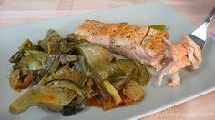 Post Salmón con verduras