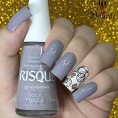 54 New ideas french manicure grey hair colors French Manicure Gel, Manicure And Pedicure, Cute Nails, Pretty Nails, My Nails, Manicure Colors, Nail Colors, Gel Nail Art, Nail Polish