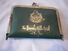 Vintage BEVERLY HILLS HOTEL sewing kit 1950s. $18.00, via Etsy.