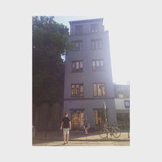 The blue house, Kraków ghetto.