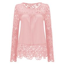 Summer Chiffon Lace Blusa Blouse Chemise Femme Plus Size Blusas Long Sleeve Women Tops Shirt Women Clothes Just look, that`s outstanding! Pink Lace Tops, Lacy Tops, Crop Tops, Chiffon Blouses, Lace Chiffon, Chiffon Shirt, Women's Blouses, White Blouses, Mein Style