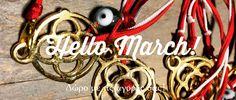 Ο Μάρτης είναι ένα έθιμο που υπάρχει εδώ και πάρα πολλά… Industrial Style, Casual Chic, Washer Necklace, Boy Or Girl, Personalized Items, Outfits, Women, Fashion, Casual Dressy