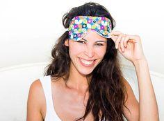 Antifaz para dormir de algodón orgánico   Organic cotton sleeping mask - Eco-friendly and vegan eye mask - Unisex gift - Gift for men - Cadeau végétalien - Masque de couchage écologique - umweltfreundliche Schlafmaske - yoga meditation - yoga asana