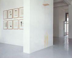 Galerie Onrust - Jürgen Partenheimer, 1997  6 September - 11 October