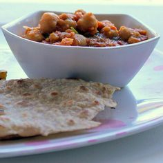Meal Series: Phukein, chole/chana masala and roti! (Green onions and potatoes, Garbanzo Bean Curry and Indian Flat Bread)