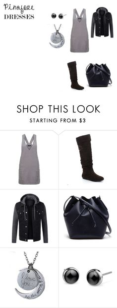 """""""Camping"""" by nadia-n-pow on Polyvore featuring New Look, Lacoste, pinafores and 60secondstyle"""