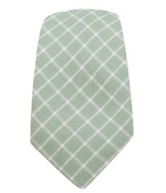 Dominion Plaid - Spring Mint (Cotton Skinny) | Ties, Bow Ties, and Pocket Squares | The Tie Bar